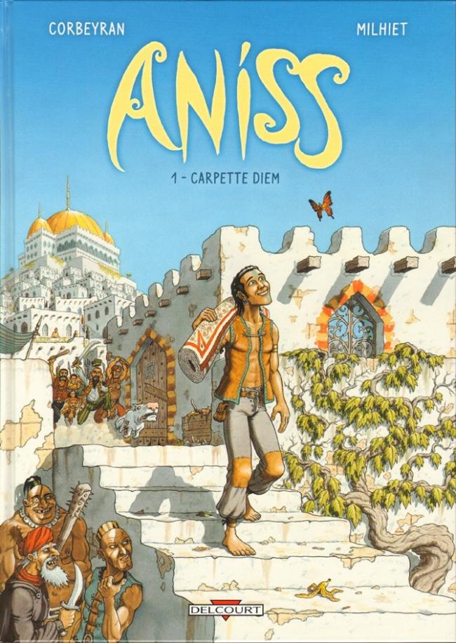 Couverture de Aniss -1- Carpette diem