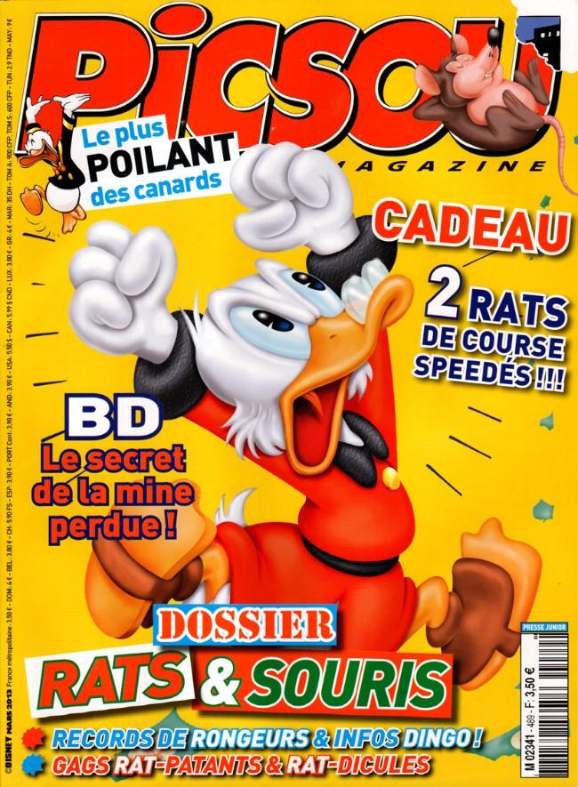 Couverture de Picsou Magazine -489- Picsou Magazine n° 489