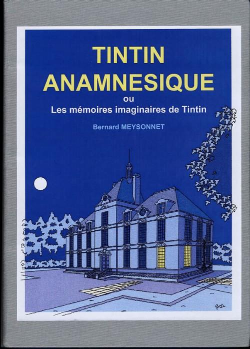 Couverture de Tintin - Divers - Tintin anamnésique ou Les mémoires imaginaires de Tintin