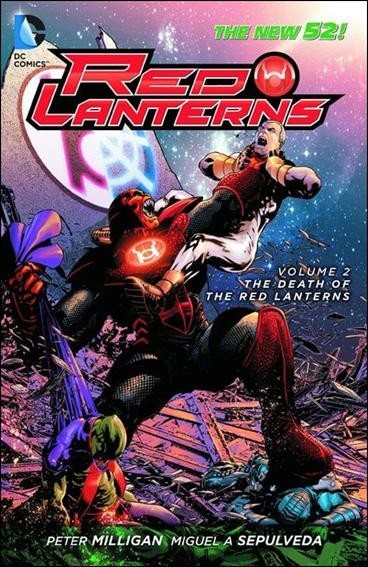 Couverture de Red Lanterns (2011) -INT02- Death of the red lanterns