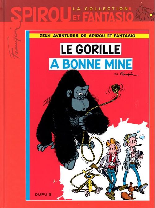 Couverture de Spirou et Fantasio - La collection (Cobra) -8- Le gorille a bonne mine