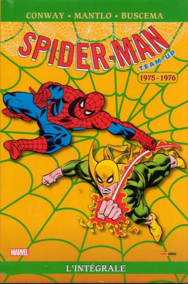 Couverture de Spider-Man Team-Up (L'Intégrale) -3INT- L'Intégrale 1975-1976