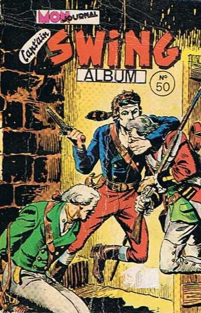 Couverture de Capt'ain Swing! (1re série) -Rec050- Album N°50 (du n°180 au n°182)