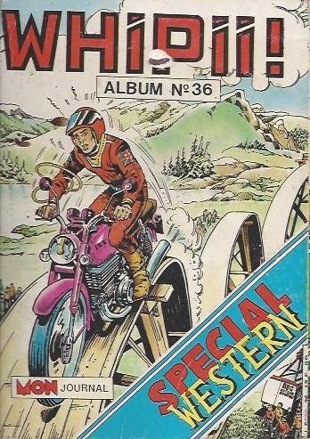 Couverture de Whipii ! (Panter Black, Whipee ! puis) -Rec36- Album N°36 (du n°104 au n°106)