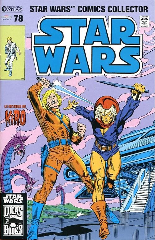 Couverture de Star Wars (Comics Collector) -78- L'esprit du banc/Tai