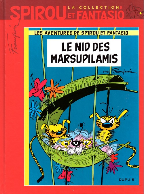 Couverture de Spirou et Fantasio - La collection (Cobra) -9- Le nid des Marsupilamis