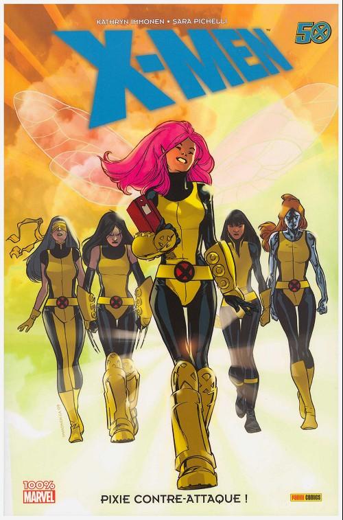 Couverture de X-Men (100% Marvel) - Pixie contre-attaque!
