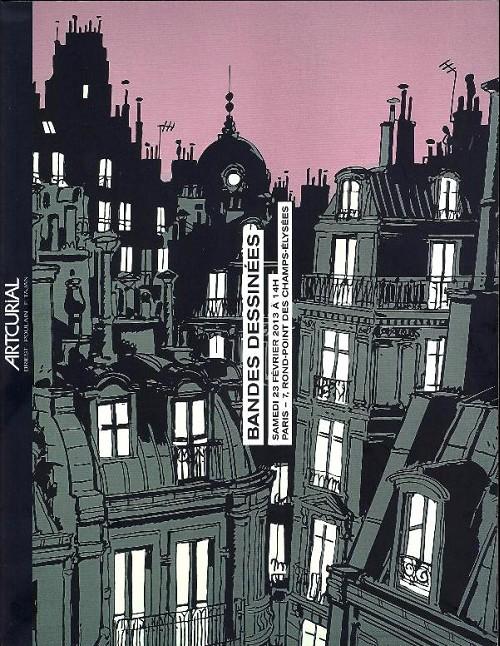 Couverture de (Catalogues) Ventes aux enchères - Artcurial - Artcurial - Bandes dessinées - samedi 23 février 2013 - Paris hôtel Dassault