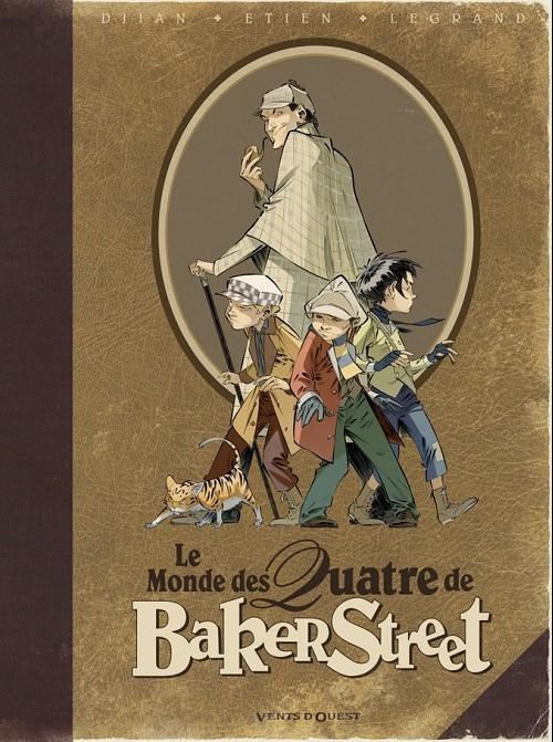 Couverture de Les quatre de Baker Street -HS1- Le Monde des Quatre de Baker Street