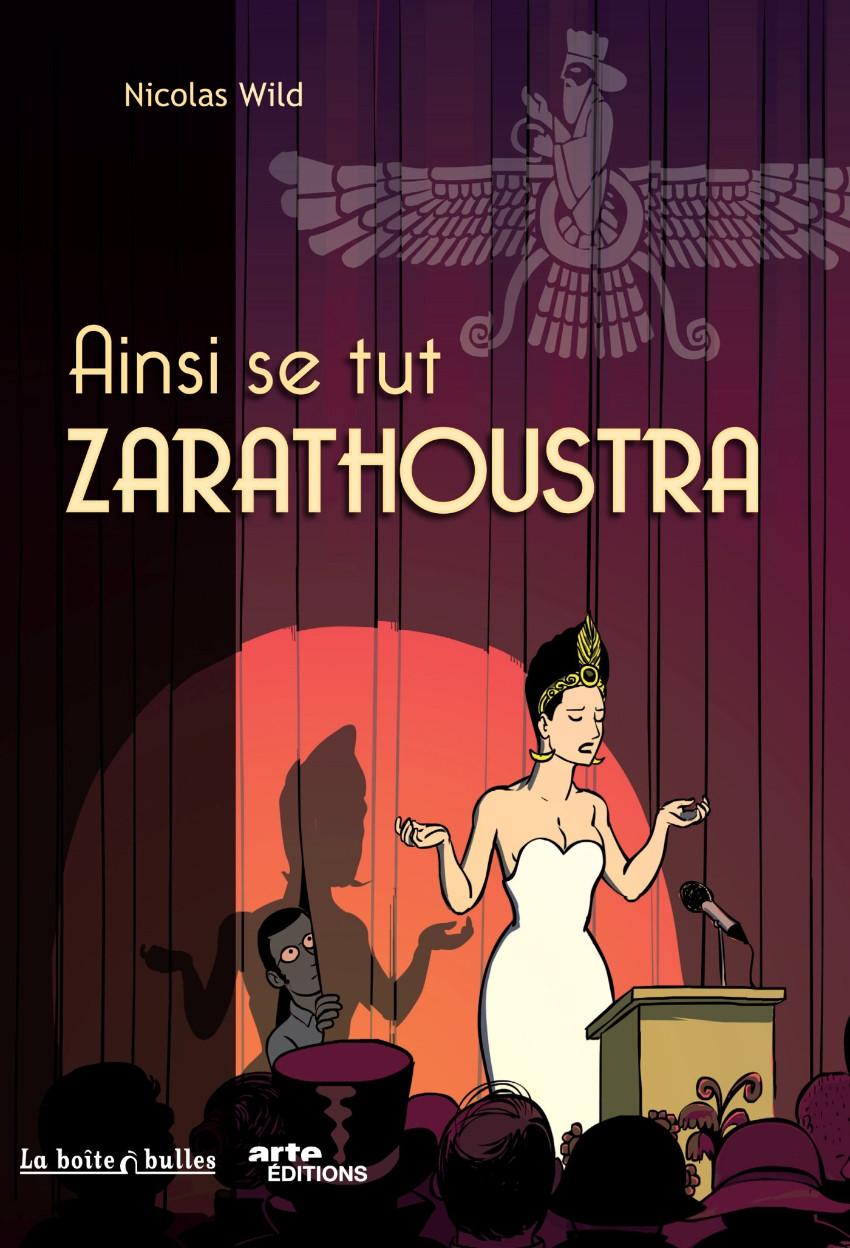 Couverture de Ainsi se tut Zarathoustra