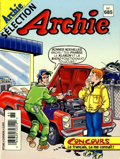 Couverture de Archie Sélection -685- Faites que j'arrive à l'heure
