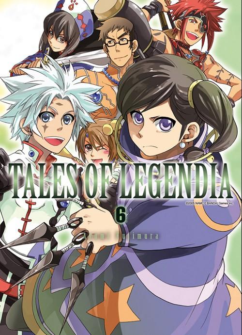 Couverture de Tales of Legendia -6- Tome 6