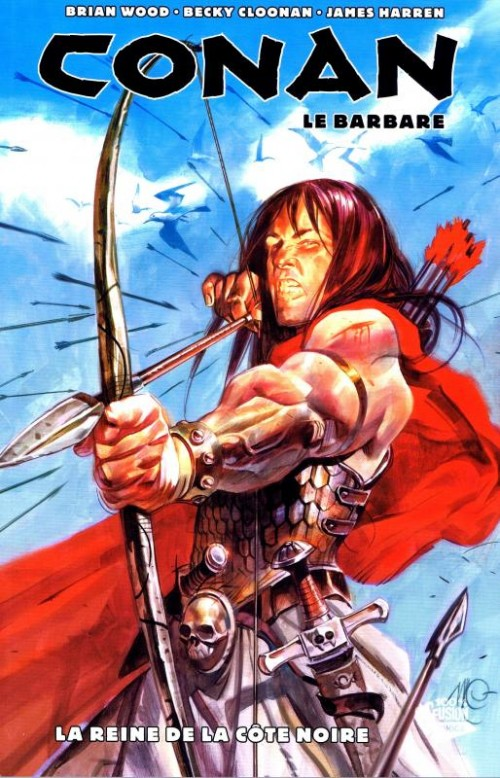 Couverture de Conan le barbare (100% Fusion) -1- La reine de la côte noire