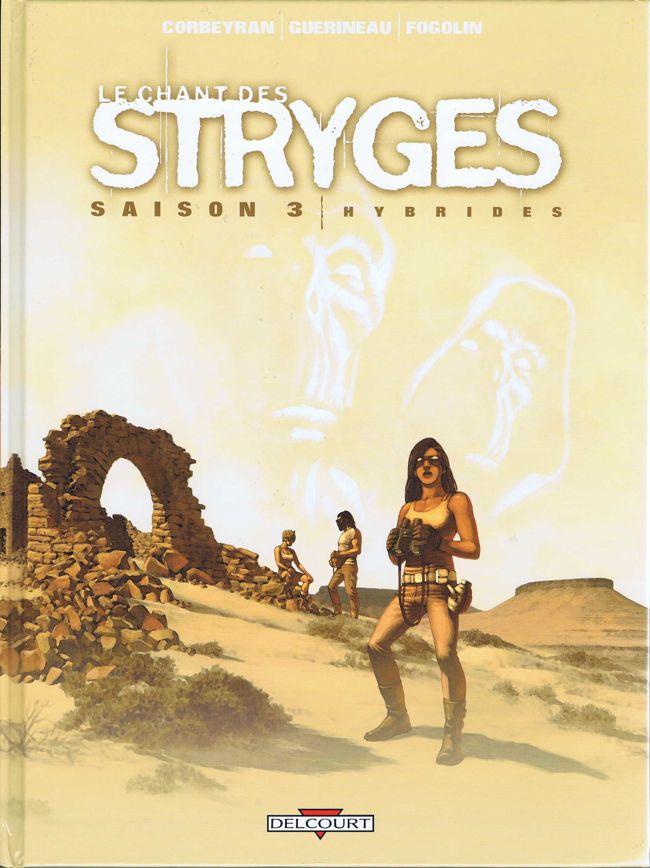 Couverture de Le chant des Stryges -15- Saison 3 -Hybrides