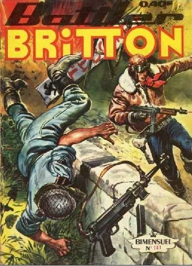 Couverture de Battler Britton -141- Face aux monstres