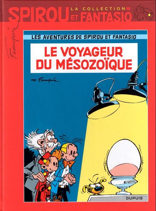 Couverture de Spirou et Fantasio - La collection (Cobra) -10- Le voyageur du mésozoïque