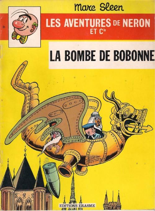 Couverture de Néron et Cie (Les Aventures de) (Érasme) -85- La bombe de bobonne