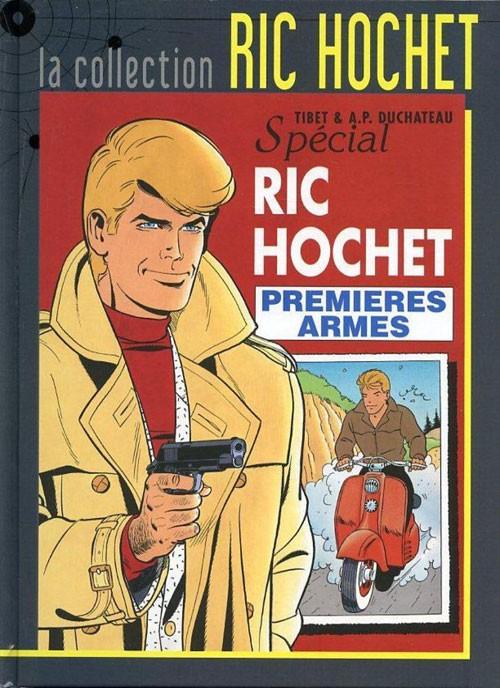 Couverture de Ric Hochet - La collection (Hachette) -58- Premières armes