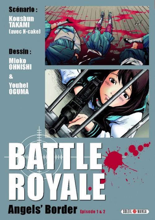 Couverture de Battle Royale -HS- Angel's Border