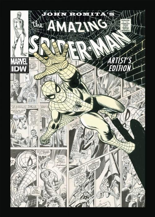 Couverture de The amazing Spider-Man Vol.1 (Marvel comics - 1963) -INT- John Romita's The Amazing Spider-Man Artist's Edition