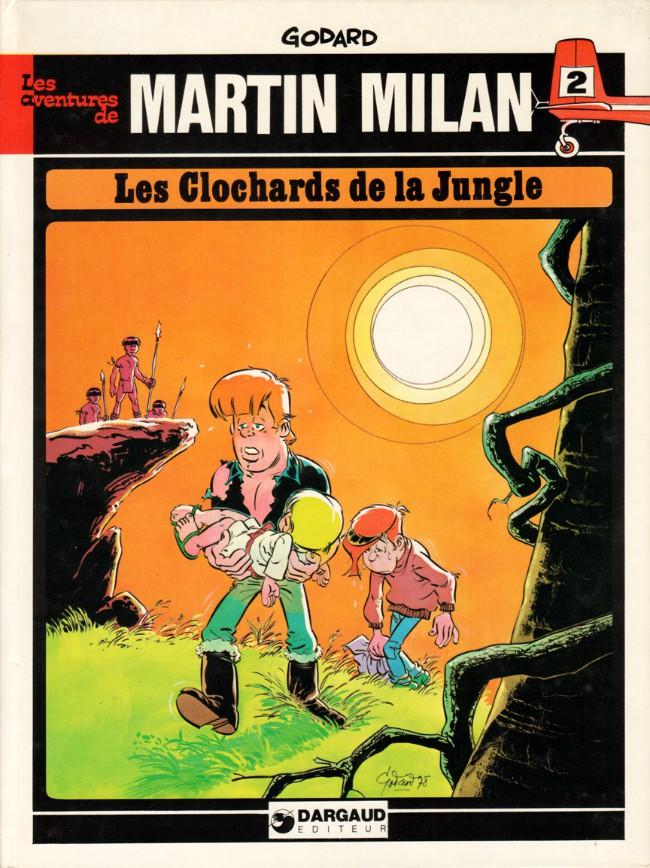 Couverture de Martin Milan (2e Série) -2- Les clochards de la jungle