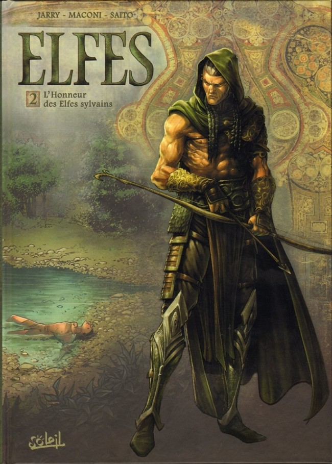 Couverture de Elfes -2- L'Honneur des Elfes sylvains