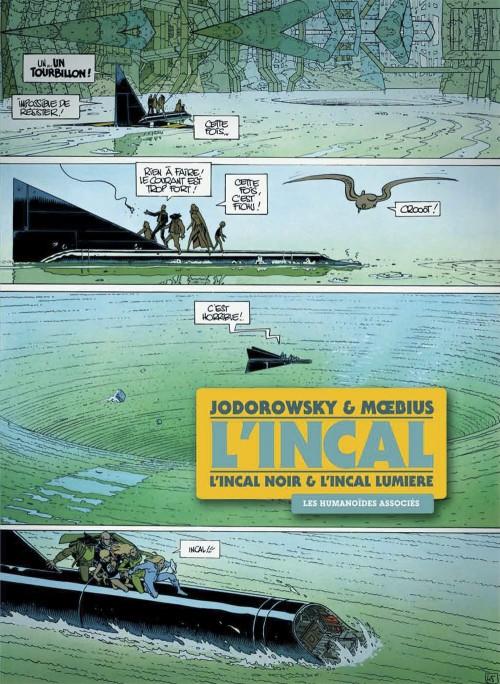 Couverture de L'incal - Une aventure de John Difool -INT1- L'Incal Noir & L'Incal Lumière