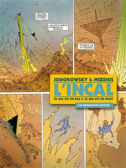 Couverture de L'incal - Une aventure de John Difool -INT2- Ce qui est en bas & Ce qui est en haut