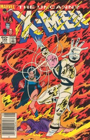 Couverture de Uncanny X-Men (The) (Marvel comics - 1963) -184- The past... of future days