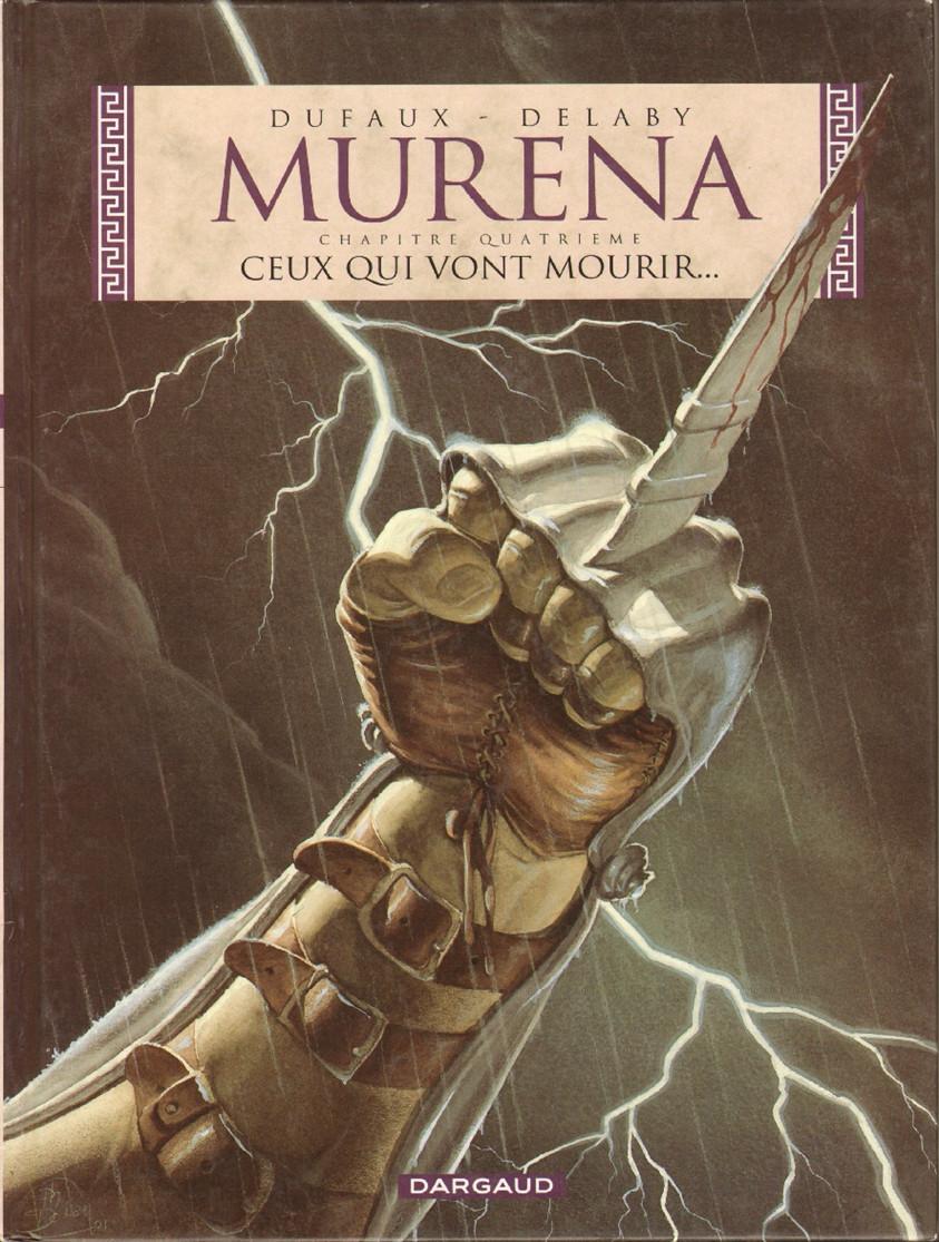 Couverture de Murena -4- Ceux qui vont mourir...