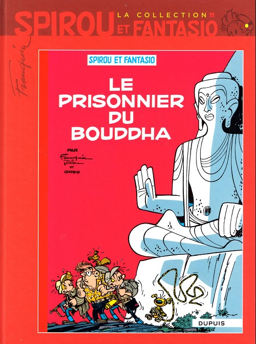 Couverture de Spirou et Fantasio - La collection (Cobra) -11- Le prisonnier du bouddha