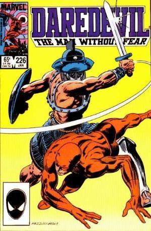 Couverture de Daredevil (1964) -226- Warriors