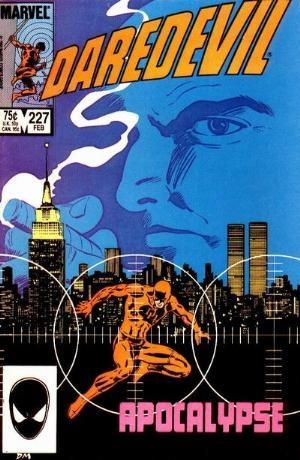 Couverture de Daredevil (1964) -227- Apocalypse
