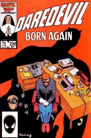Couverture de Daredevil Vol. 1 (Marvel - 1964) -230- Born again