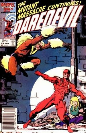 Couverture de Daredevil (1964) -238- It comes with the claws