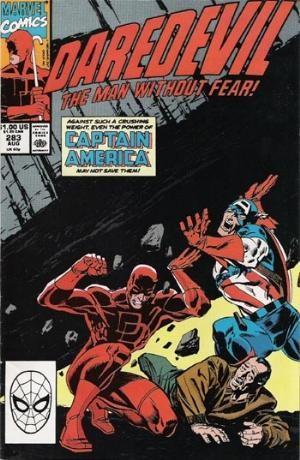Couverture de Daredevil (1964) -283- The American Nightmare