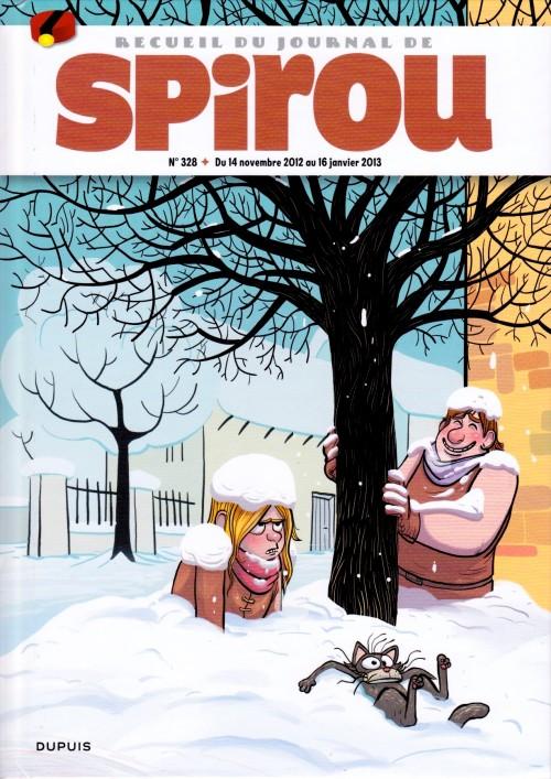 Couverture de (Recueil) Spirou (Album du journal) -328- Spirou album du journal