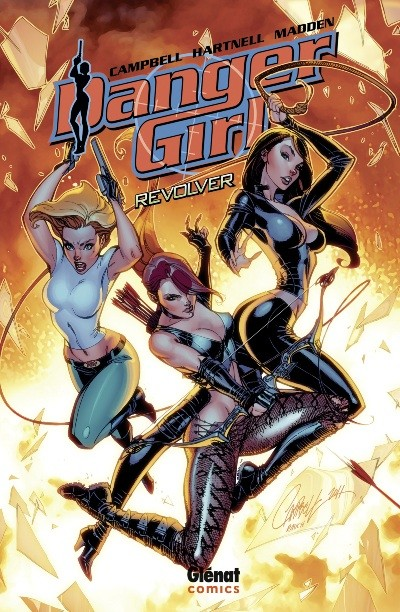Danger Girl (Glénat) (3 tomes) sur Bookys