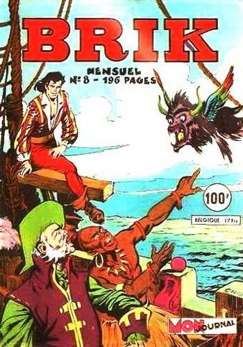 Couverture de Brik (Mon journal) -8- Brik a ramené un petit noir Mambo
