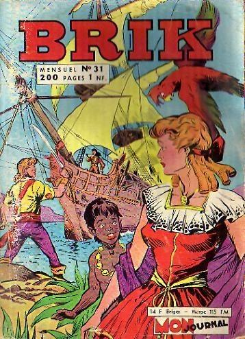 Couverture de Brik (Mon journal) -31- L'île de la Désolation