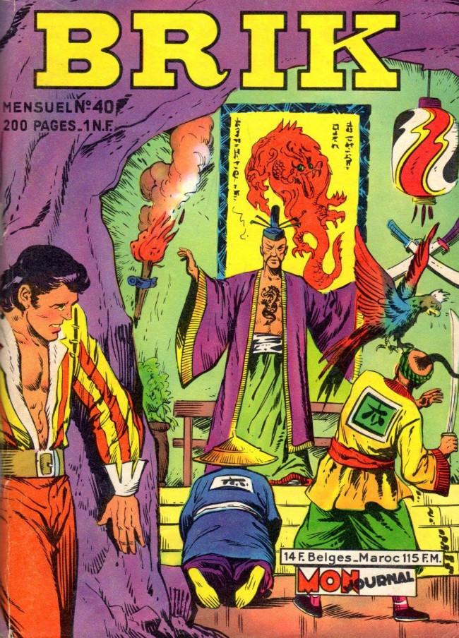 Couverture de Brik (Mon journal) -40- Dragon Vert