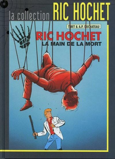 Couverture de Ric Hochet - La collection (Hachette) -59- La main de la mort