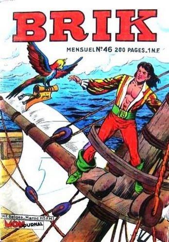 Couverture de Brik (Mon journal) -46- Les conspirateurs de Saint Malo