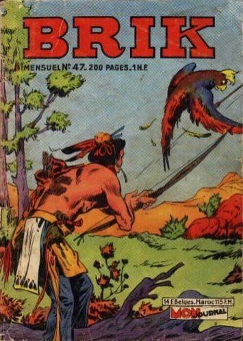 Couverture de Brik (Mon journal) -47- Le cavalier sans visage