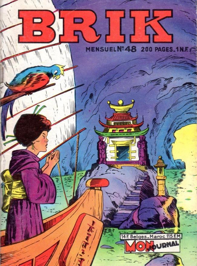 Couverture de Brik (Mon journal) -48- L'île des sept dragons