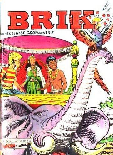 Couverture de Brik (Mon journal) -50- La Maharani du Bengale