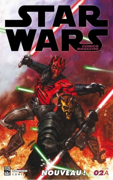 Couverture de Star Wars - Comics magazine -2A- Boba Fett est mort !
