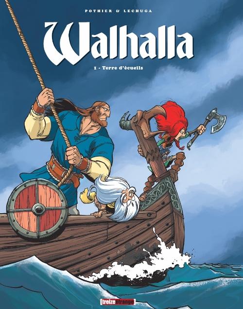 Couverture de Walhalla -1- Terre d'écueils