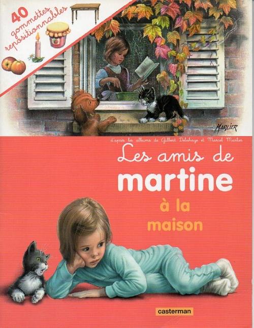 Couverture de Martine - HS8- Les amis de martine à la maison