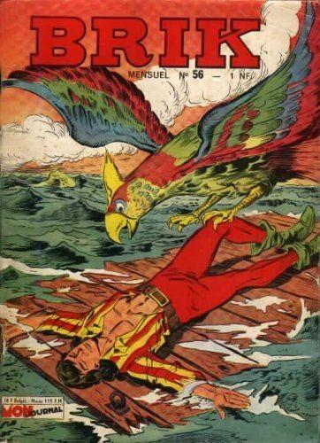 Couverture de Brik (Mon journal) -56- Le poisson sacré